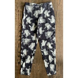 PAUL SMITH BLACK LABEL Floral Flowers Trousers